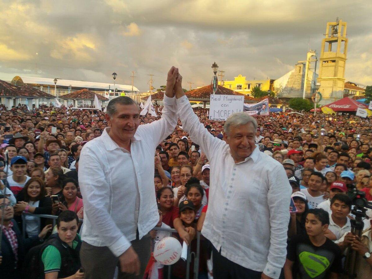 López Obrador lidera intención de voto rumbo a la presidenciales en México