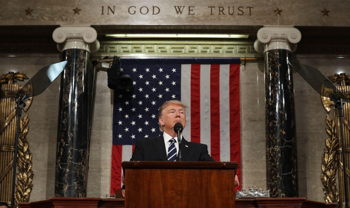 Trump y su momento de reescribir la historia