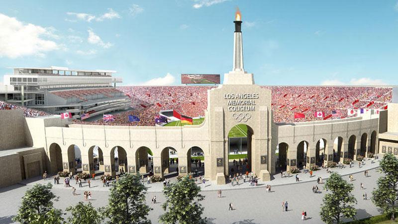 Fotos: Descubre cómo será la remodelación del estadio LA Memorial Coliseum