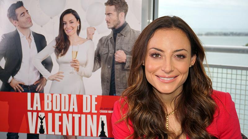 """Marimar Vega festeja el Día del Amor y la Amistad con """"La boda de Valentina"""""""