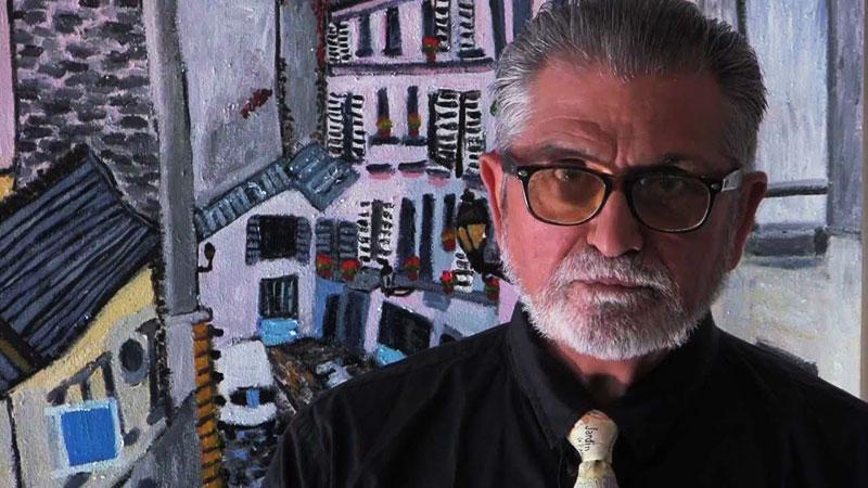 Pintor veterano de guerra retrata el paisaje urbano de Los Ángeles