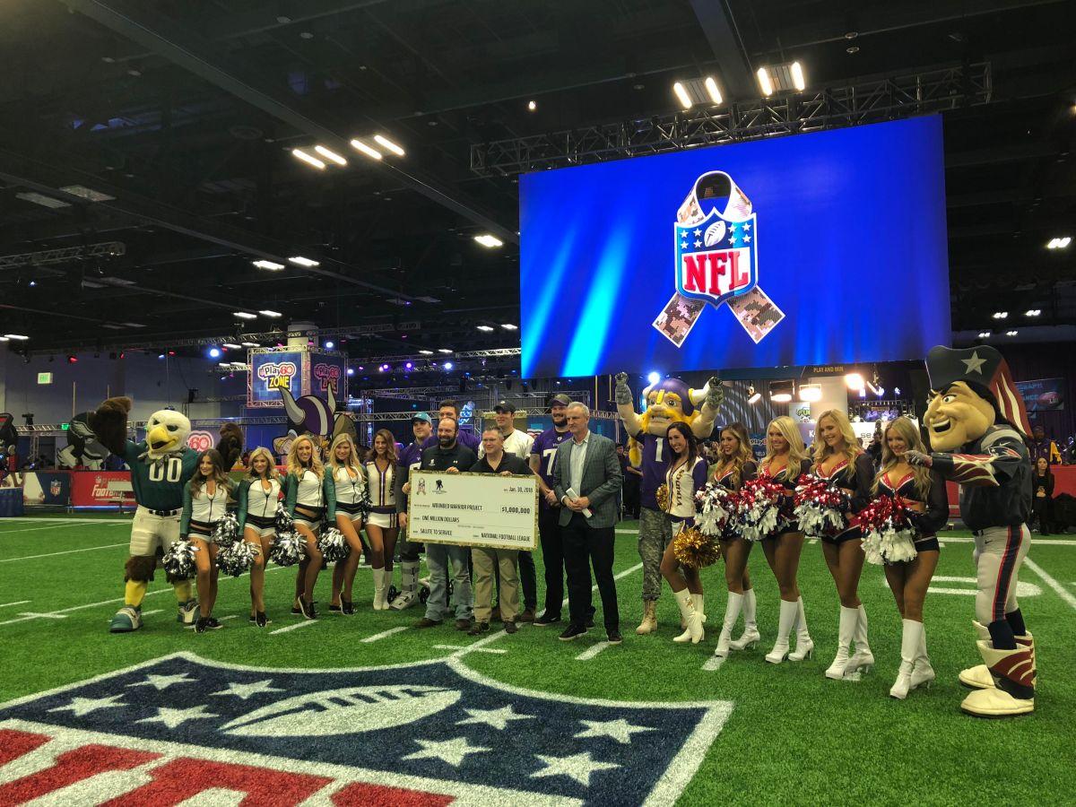 La NFL les da las gracias a militares en activo y veteranos de guerra