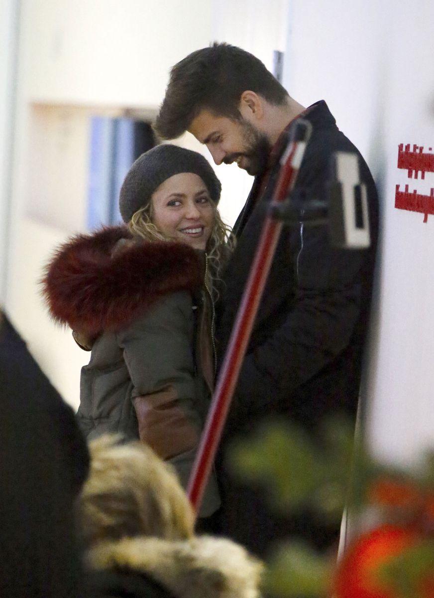 Shakira no pierde la sonrisa, gracias a Gerard Piqué