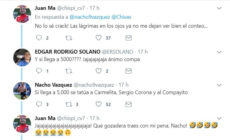 El exfutbolista Nacho Vázquez le lanzó otro reto al aficionado rojiblanco
