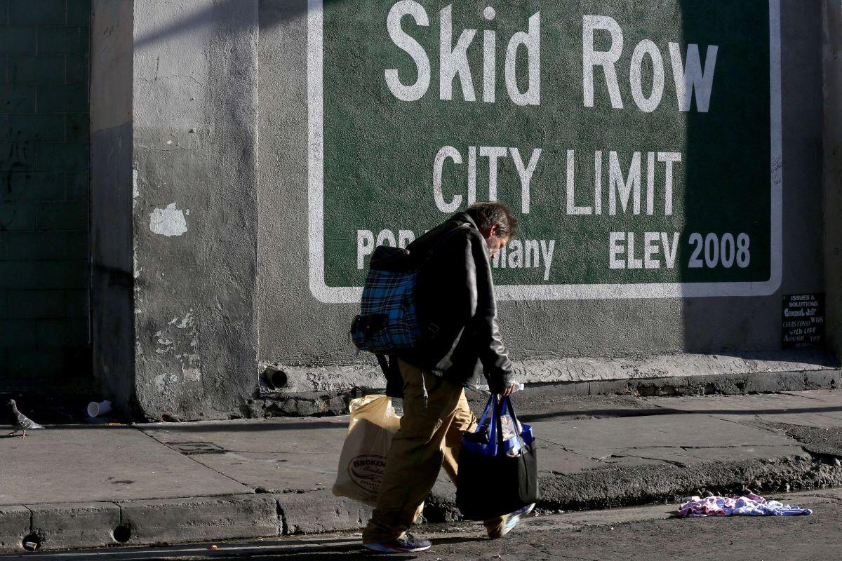 Frustración e inconformidad en cómo se maneja la crisis de desamparados en LA