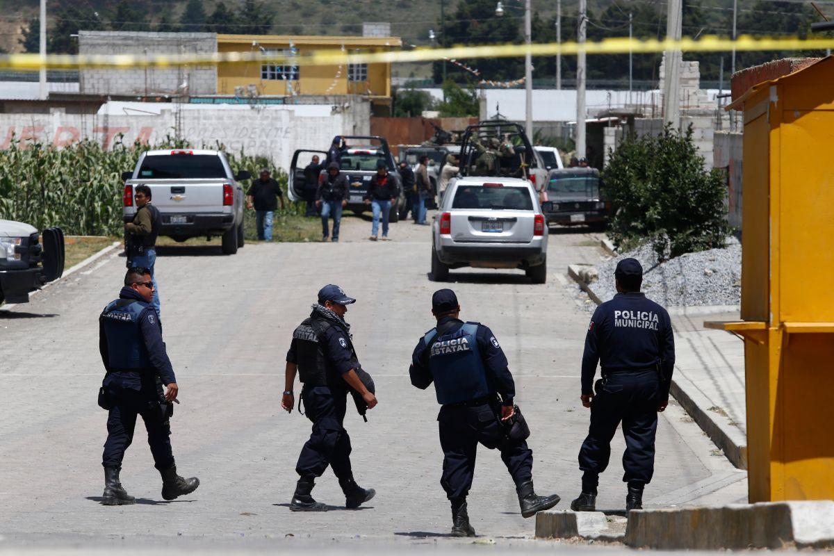 Violencia en México. EFE