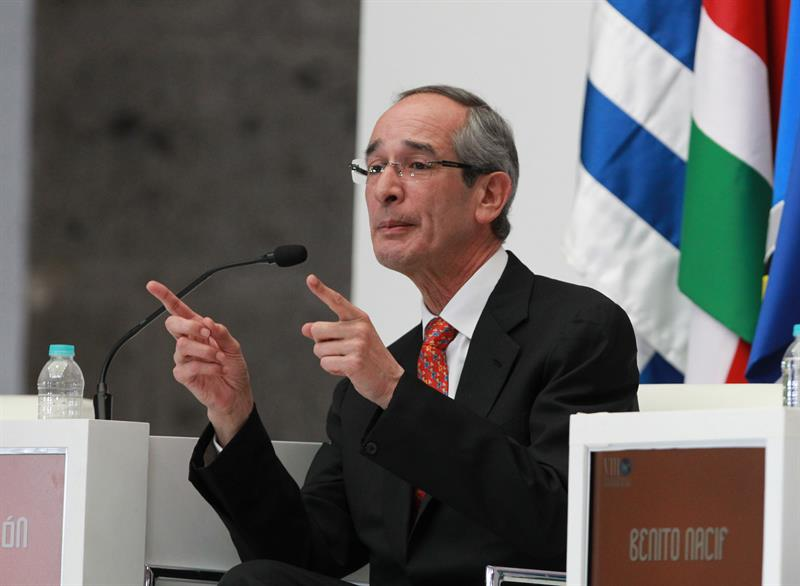 Álvaro Colom, expresidente de Guatemala./ EFE