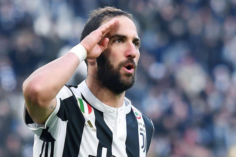 Triplete de Gonzalo Higuaín en goleada de la Juventus