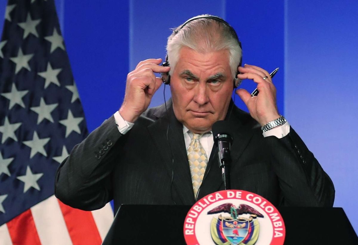 El secretario Tillerson estuvo de gira por América Latina a principios de febrero.