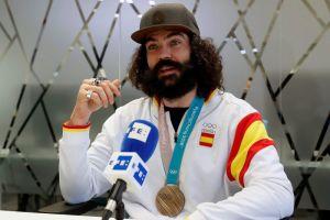 Regino Hernández, el medallista en PyeongChang que admira a Cristiano Ronaldo