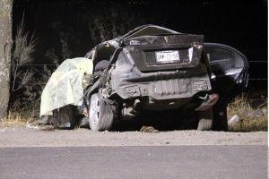 Adolescente de 12 años choca auto y mata a cinco menores de 15
