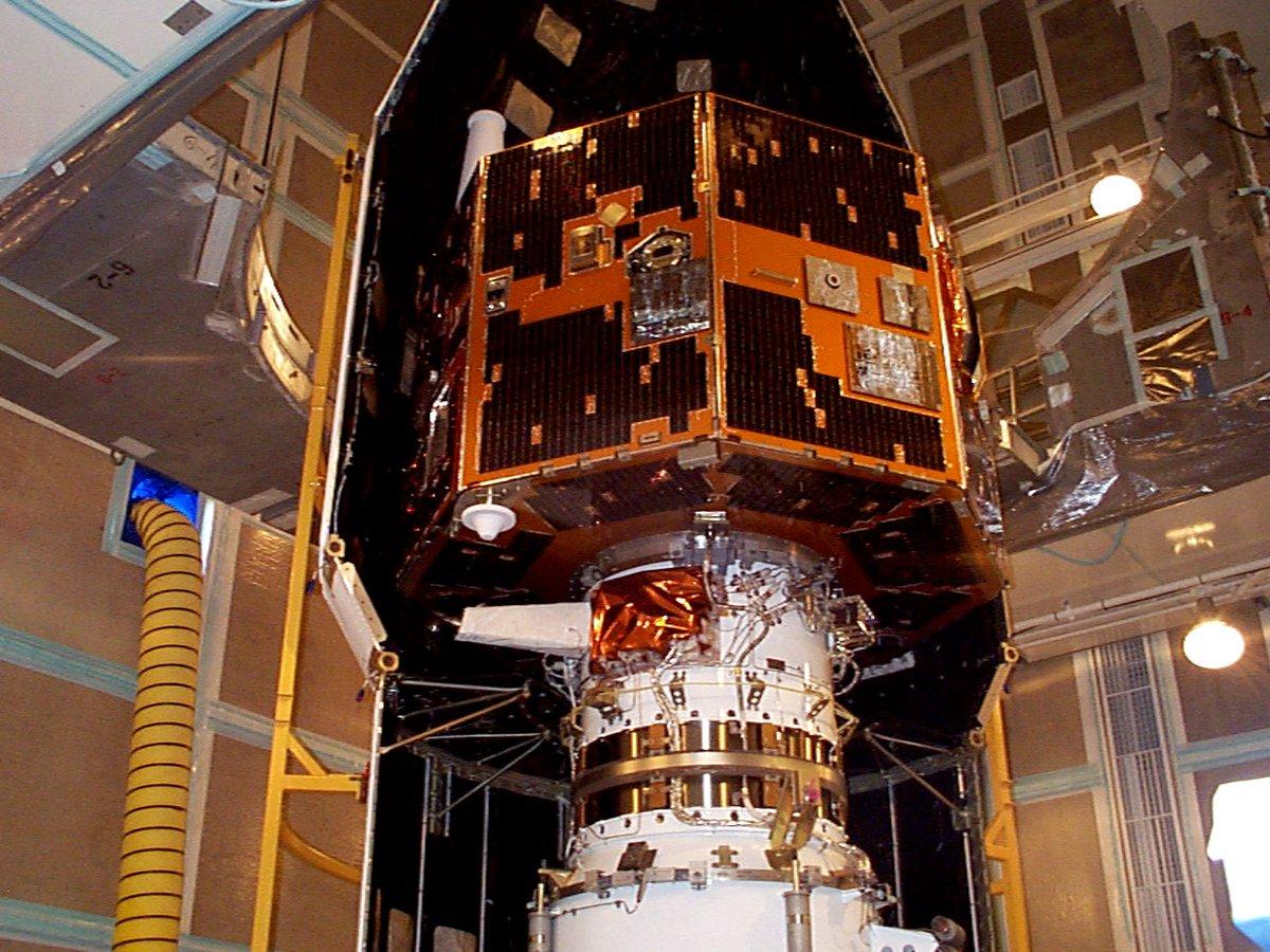 IMAGE perdió contacto con la NASA en 2005.