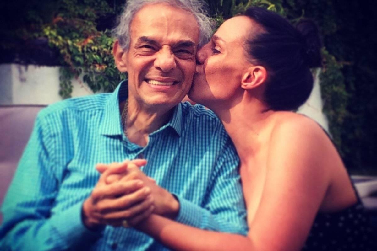 José José con su hija Marysol.