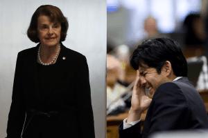 La senadora Feinstein pide a los demócratas que no se posicionen en su lucha contra Kevin de León