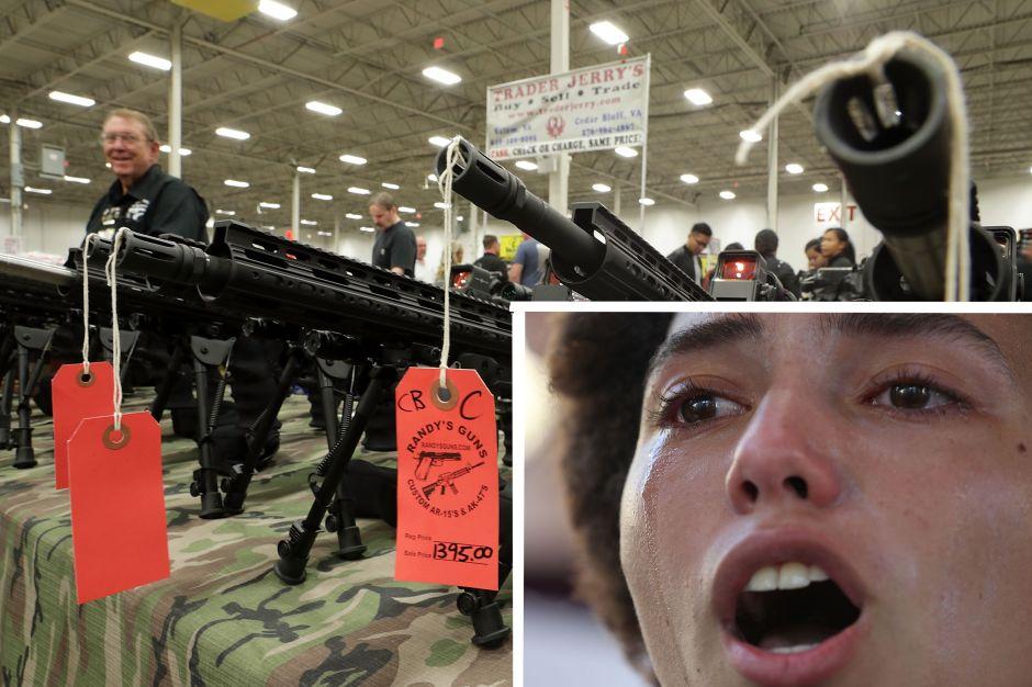 """""""Ahora todos quieren un AR-15"""": Florida celebra """"gran feria"""" de armas tres días después de la masacre"""