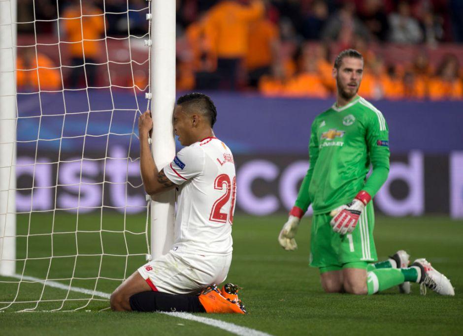 David de Gea le quita a Sevilla la victoria contra Manchester United