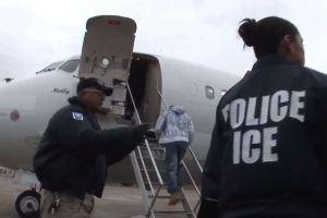 """""""Si regreso me matan"""": indocumentado se niega a abordar avión y ICE no lo puede deportar"""