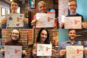 En este día de San Valentín, cartas de amor y agradecimiento a inmigrantes