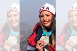 La medalla que Ivanka Trump presumió en los Juego Olímpicos