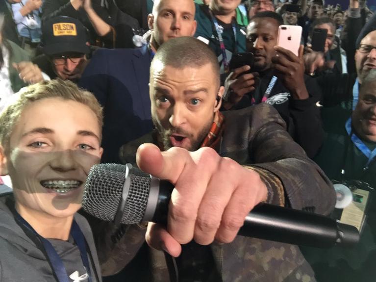 Justin Timberlake y Ryan McKenna arrasaron con los memes.