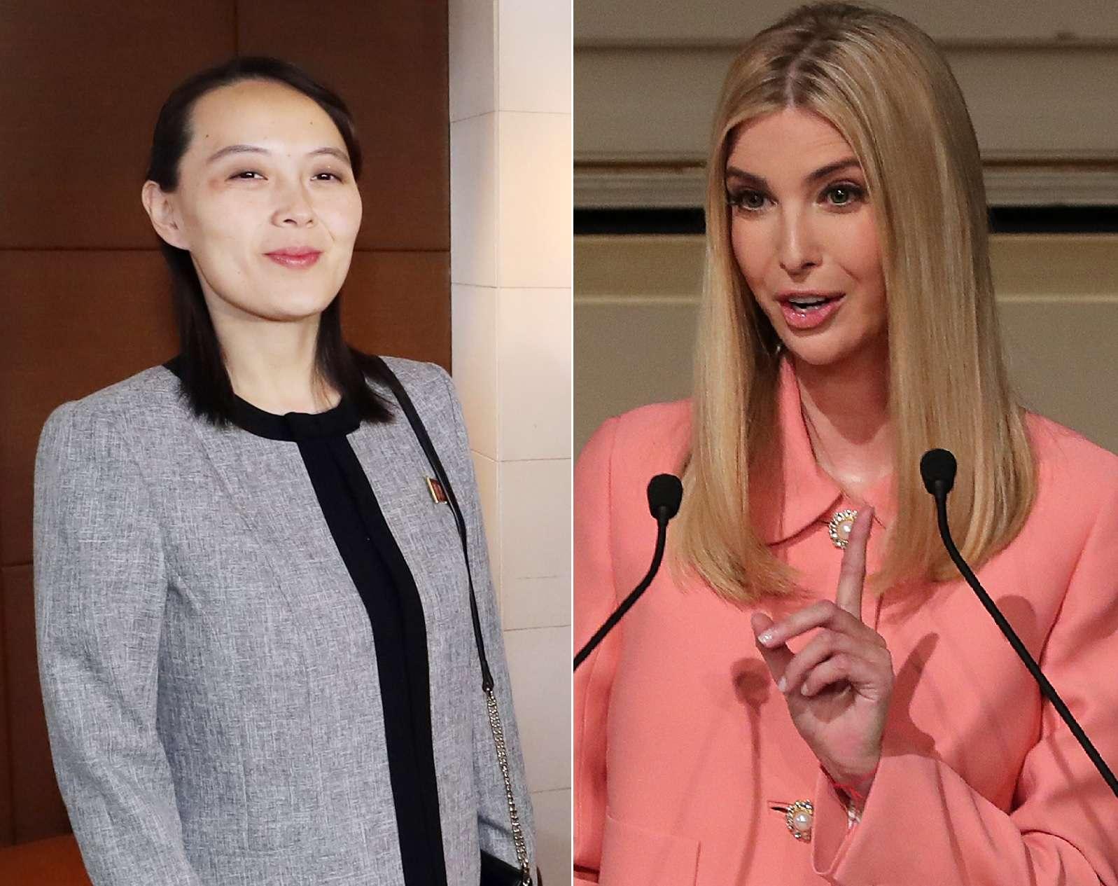 La polémica comparación entre Ivanka Trump y la hermana del líder de Corea del Norte