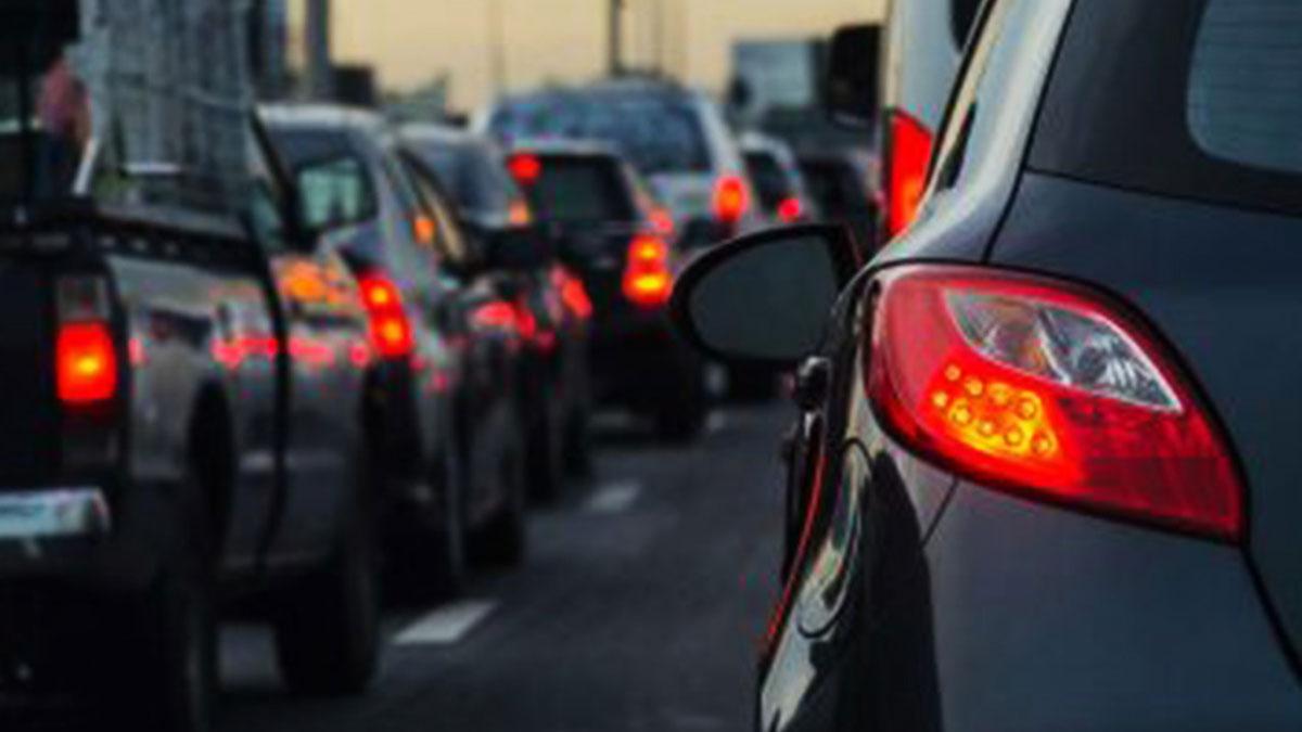 Accidente en I-10 generó tráfico hasta la autopista 110