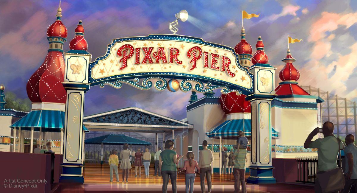 Pixar Pier debutará en Disney California Adventure este verano