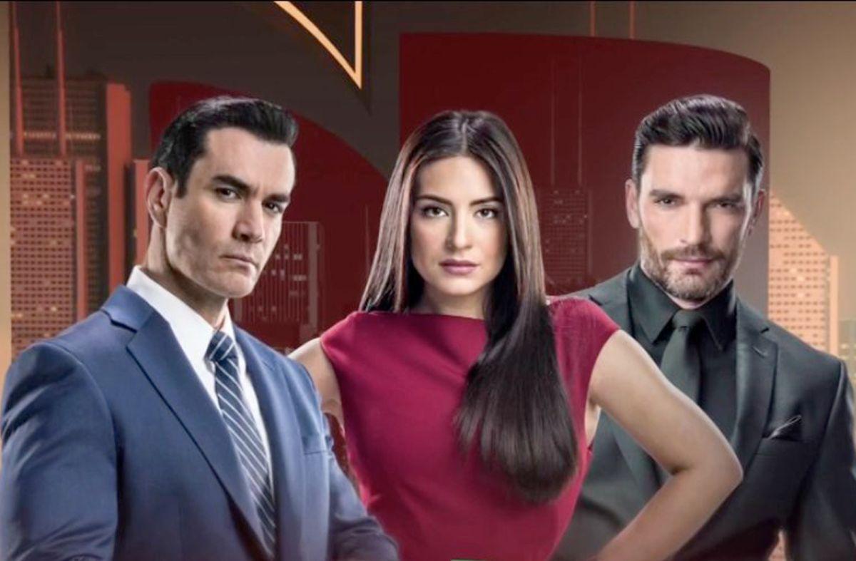 """David Zepeda, Ana Brenda Contreras y Julián Gil protagonizan la telenovela """"Por amar sin ley"""" / Foto: Univision"""