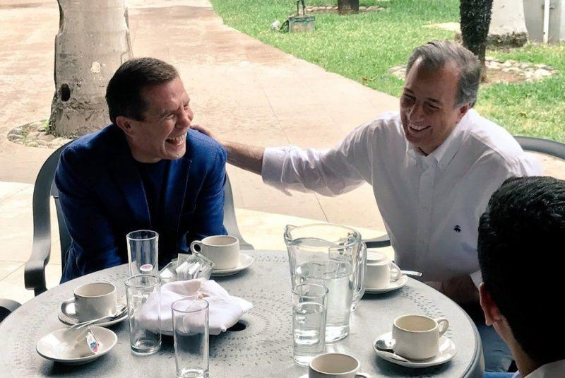 Julio Cesar Chávez se reunió con José Antonio Meade ¿Huele a 'hueso'?