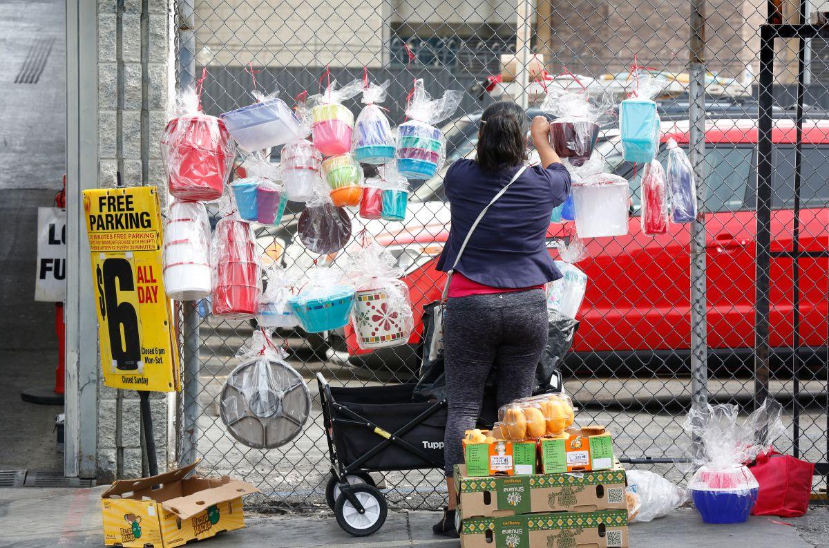 Los trabajadores pobres son más propensos al contagio del COVID-19. (Aurelia Ventura/La Opinion)