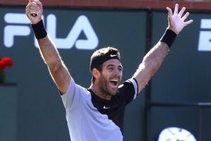 Juan Martín del Potro frena a Federer y se lleva su primer título en Indian Wells