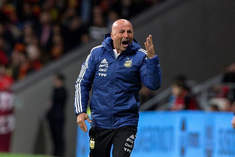 Jorge Sampaoli ya fue cesado de la selección argentina. (Foto: EFE/Rodrigo Jimenez)