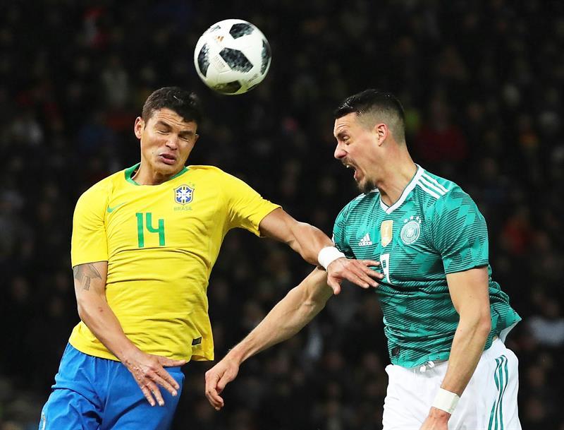 Brasil se la aplica a Alemania en Berlín ¡Venganza verdeamarela!