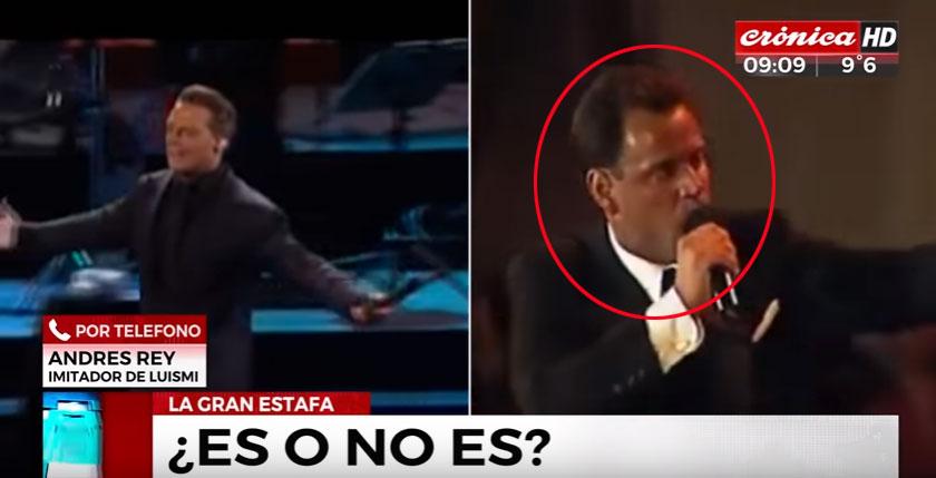 Escándalo: Aseguran que un imitador suplantó a Luis Miguel en un concierto