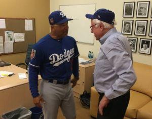 ¿Bernie Sanders busca llevar a los Dodgers de vuelta a Brooklyn?