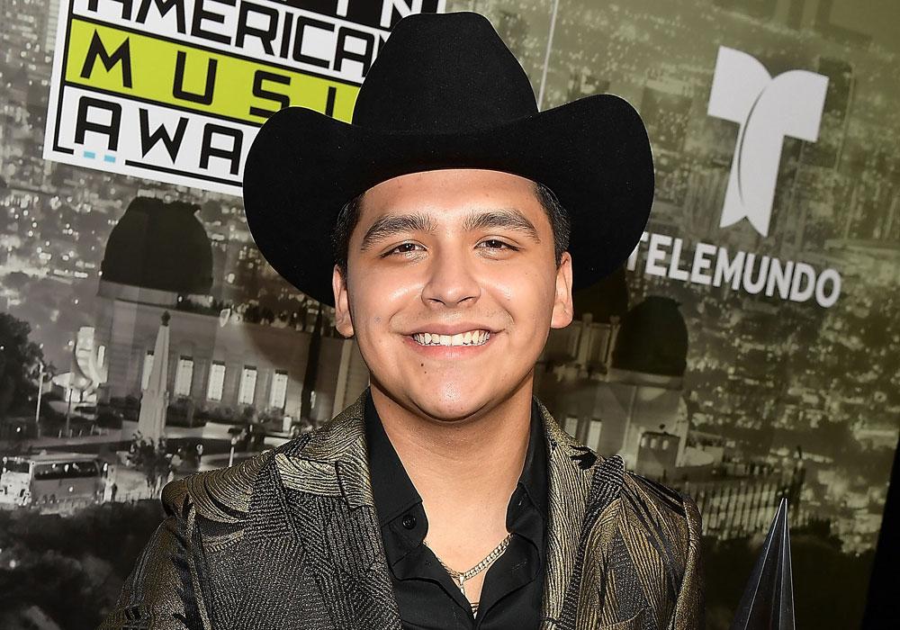 Christian Nodal, cantante de regional mexicano.