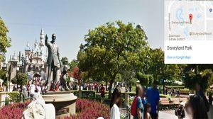 Disneyland y Disney California Adventure ya están a la vista con Google Street View