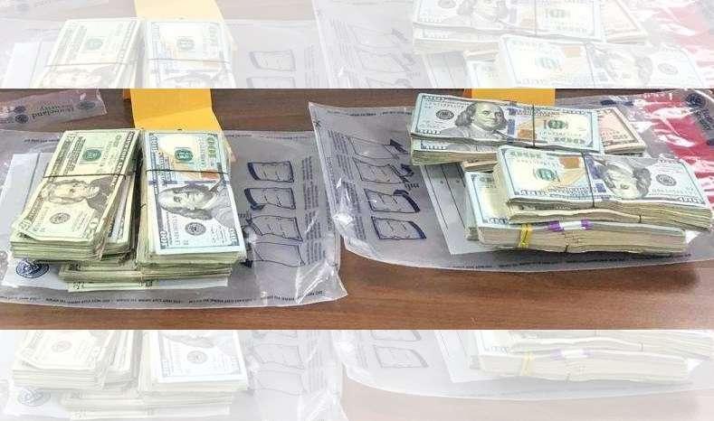 CBP investiga el origen del dinero.