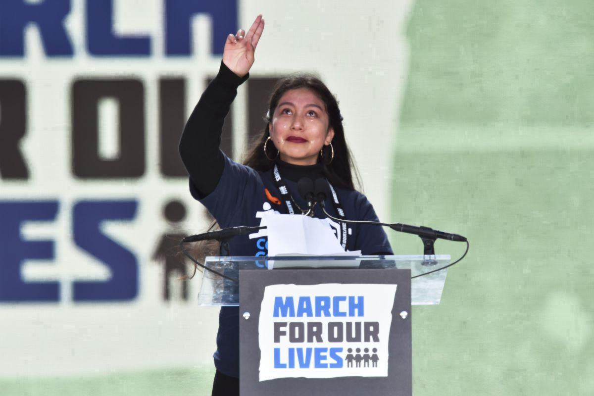 Edna Chávez:  'La lucha para el control de armas debe continuar'