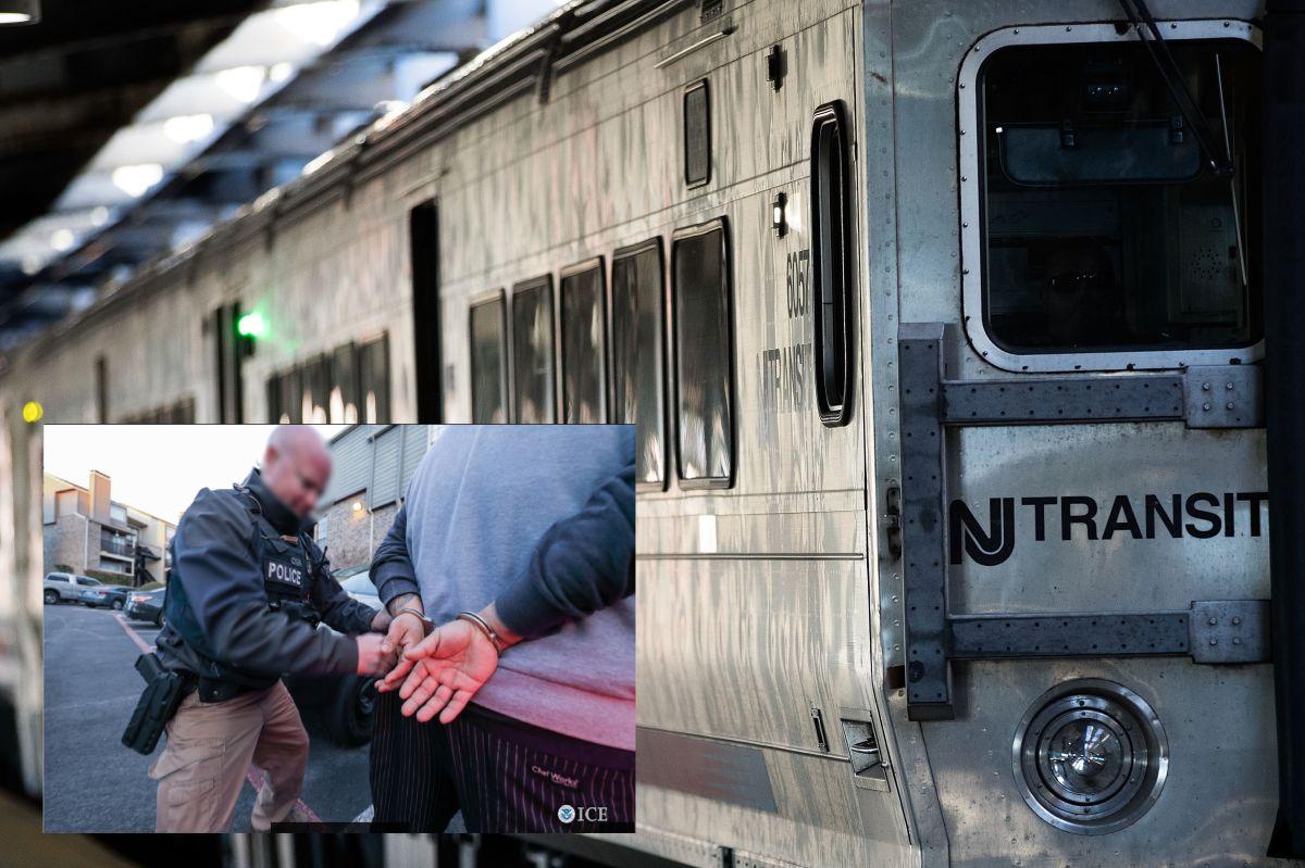 Los hechos sucedieron en el sistema de trenes de Nueva Jersey