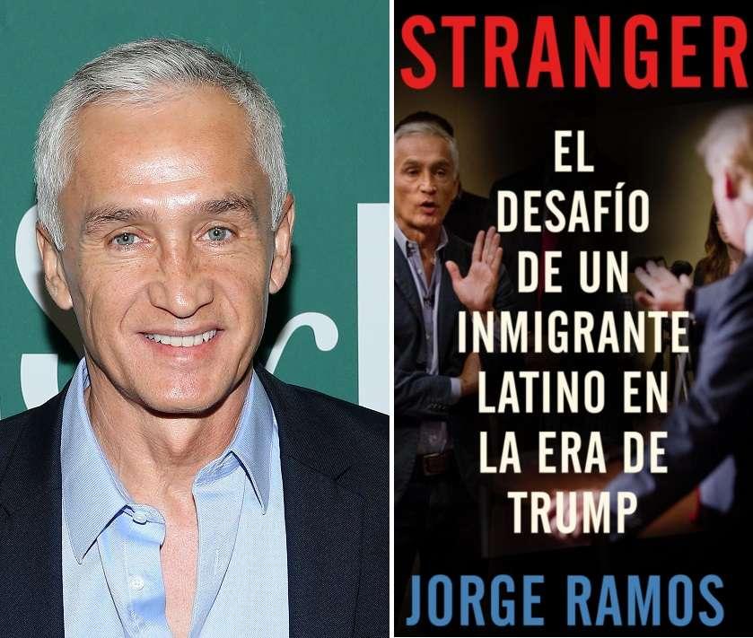 Jorge Ramos promueve su nuevo libro sobre inmigración en EEUU.