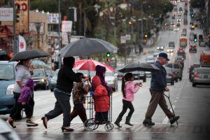 Más lluvia, nieve y frío esta semana en el sur de California
