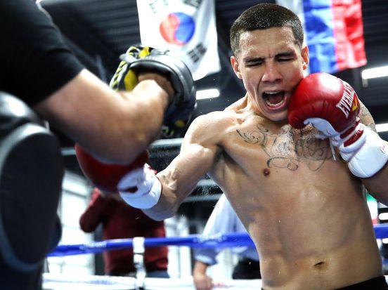 El mexicano Óscar Valdez quiere pelear contra Shakur Stevenson
