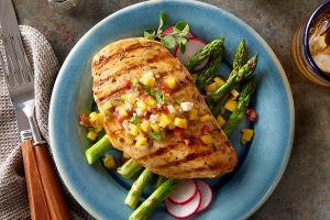 Receta baja en carbohidratos y calorías, suculento pollo agridulce