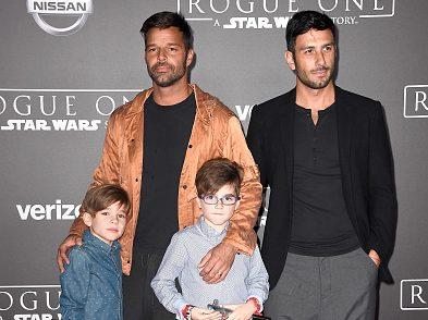 Los mellizos de Ricky Martin han aceptado a su nuevo padrastro