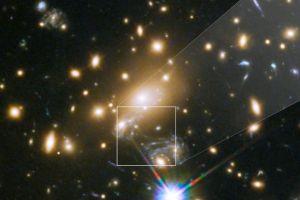 Cómo es Ícaro, la estrella más distante jamás fotografiada