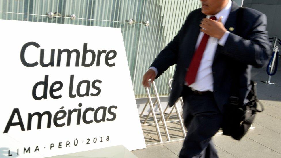 3 grandes paradojas de la Cumbre de las Américas de Perú