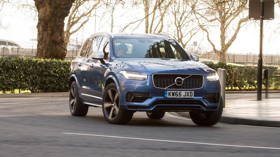 Volvo XC90 es el auto más seguro del mercado. Volvo