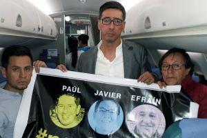 Ecuador confirma la muerte de los tres miembros de El Comercio secuestrados por un grupo disidente de las FARC