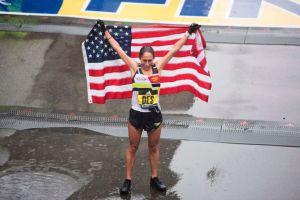 Por qué una enfermera fue la gran sensación del maratón de Boston